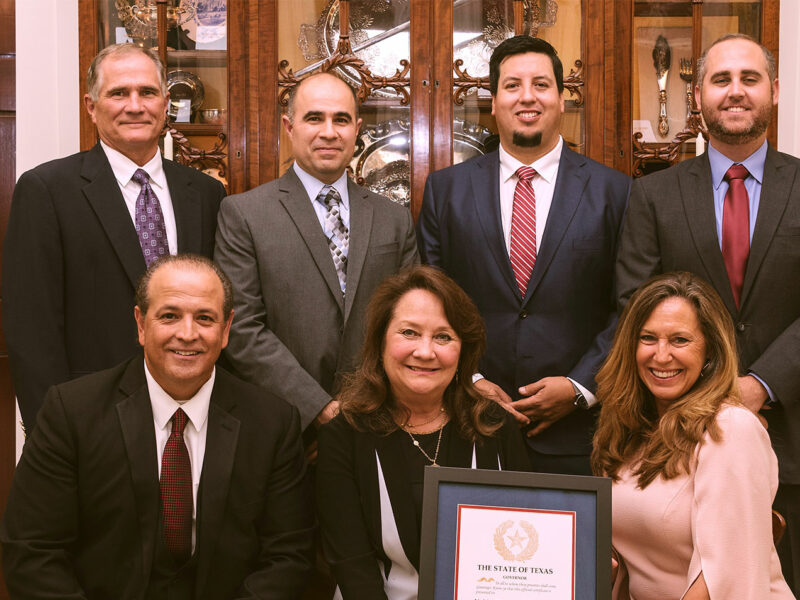 First Lady Cecilia Abbott Honors Noble Charities Foundation as Winners of 2019 Governor's Volunteer Awards